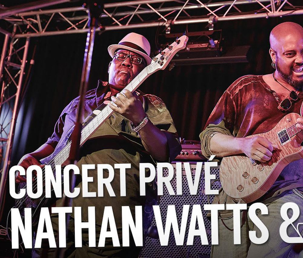 Concert avec le directeur musical de Stevie Wonder: Nathan Watts !