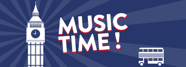 Apprenez l'anglais en music !