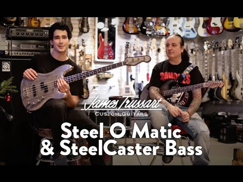 Guitare & Basse James Trussart Steel O Matic & SteelCaster Bass