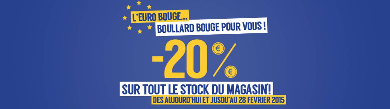 L'euro bouge… Boullard bouge pour vous !