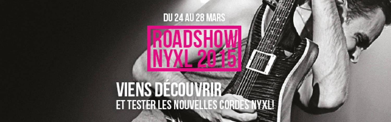 Roadshow NYXL 2015 + Concours !