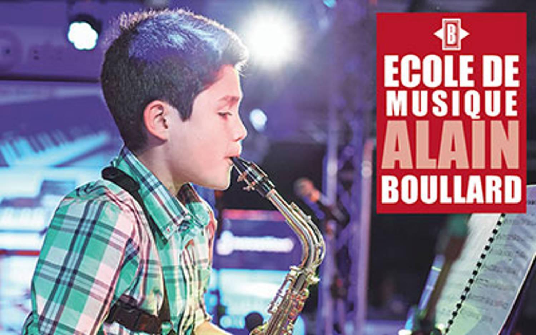 Découverte des instruments par l'Ecole de Musique Alain Boullard