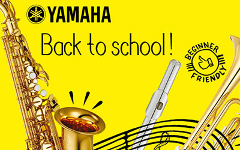 Les instruments à vent d'étude Yamaha