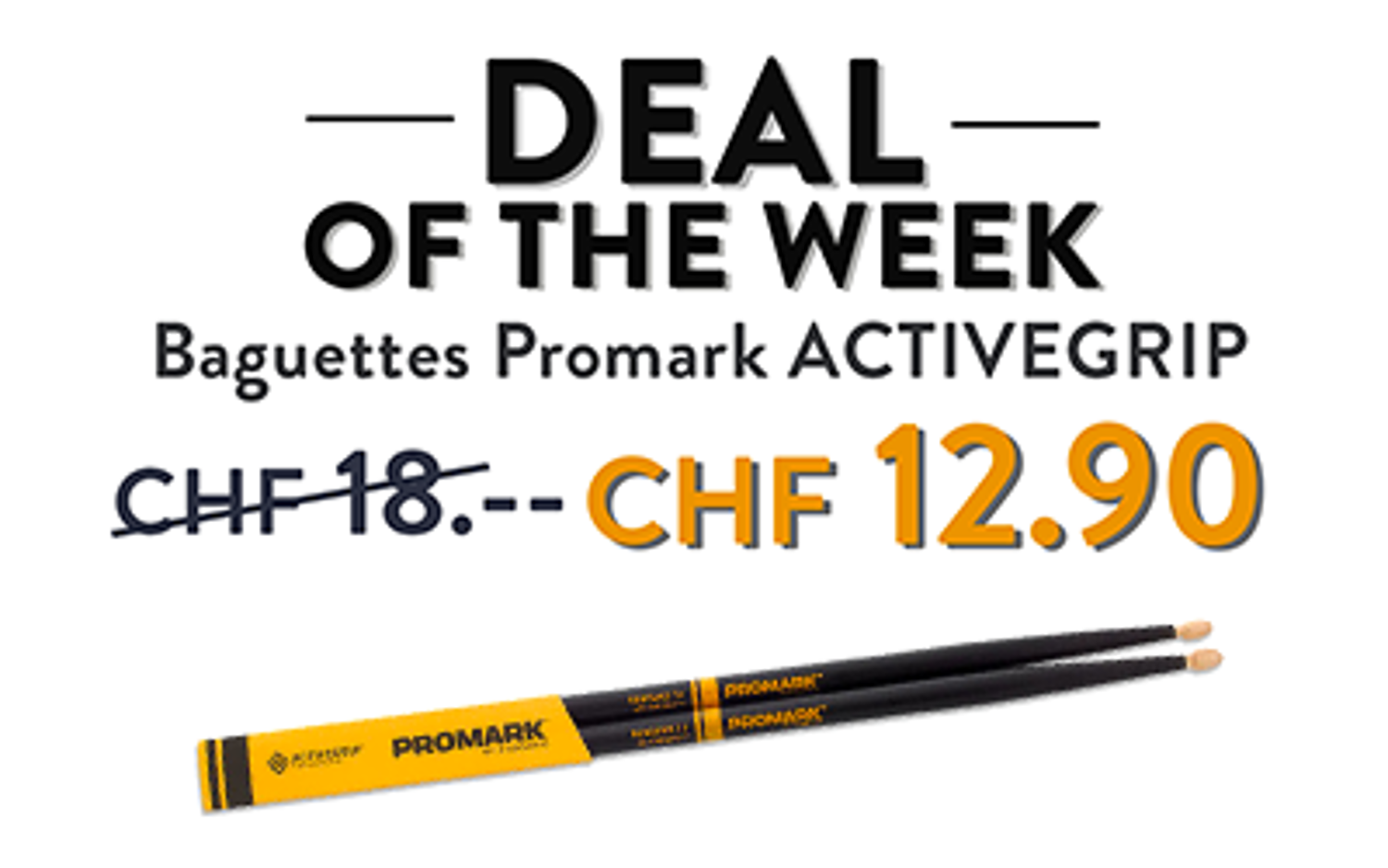 Promark ACTIVGRIP : Deal Of The Week
