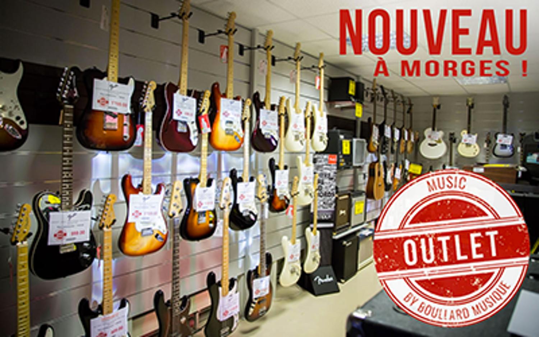 Notre nouveau MUSIC OUTLET -30% et plus !