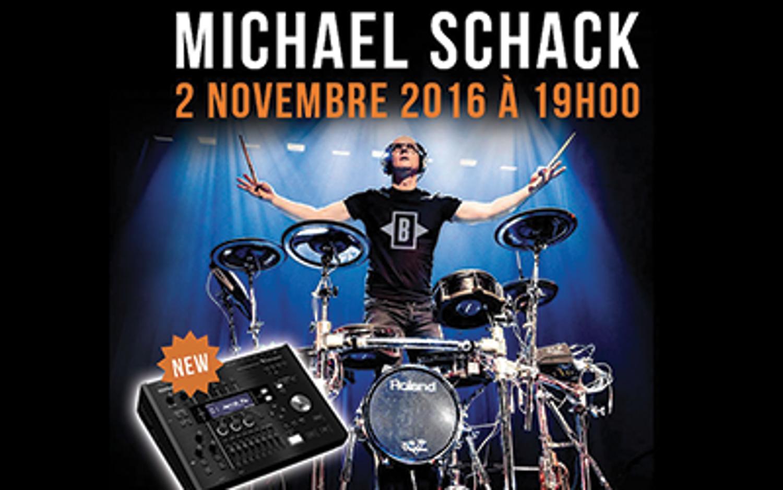 Michael Schack présente la nouvelle Roland TD-50 V-Drums