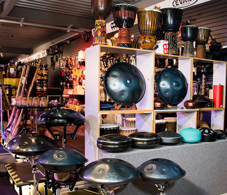 Hand Pan disponibles chez Boullard Musique