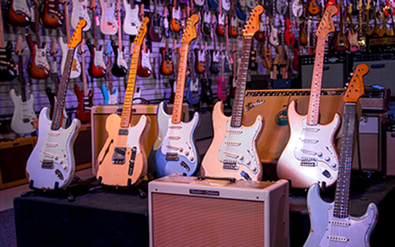 Nouvelles guitares Fender Custom Shop et Masterbuilt