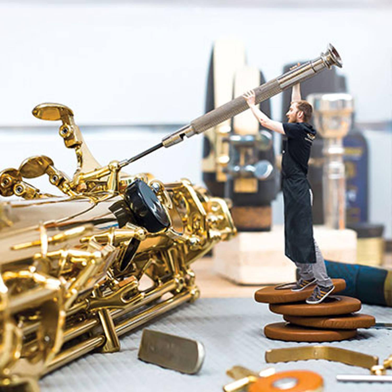 Réparation, réglage, vente et location d'instruments à vent