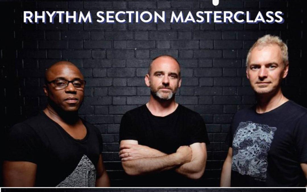 Masterclass avec la section rythmique de Jamiroquai