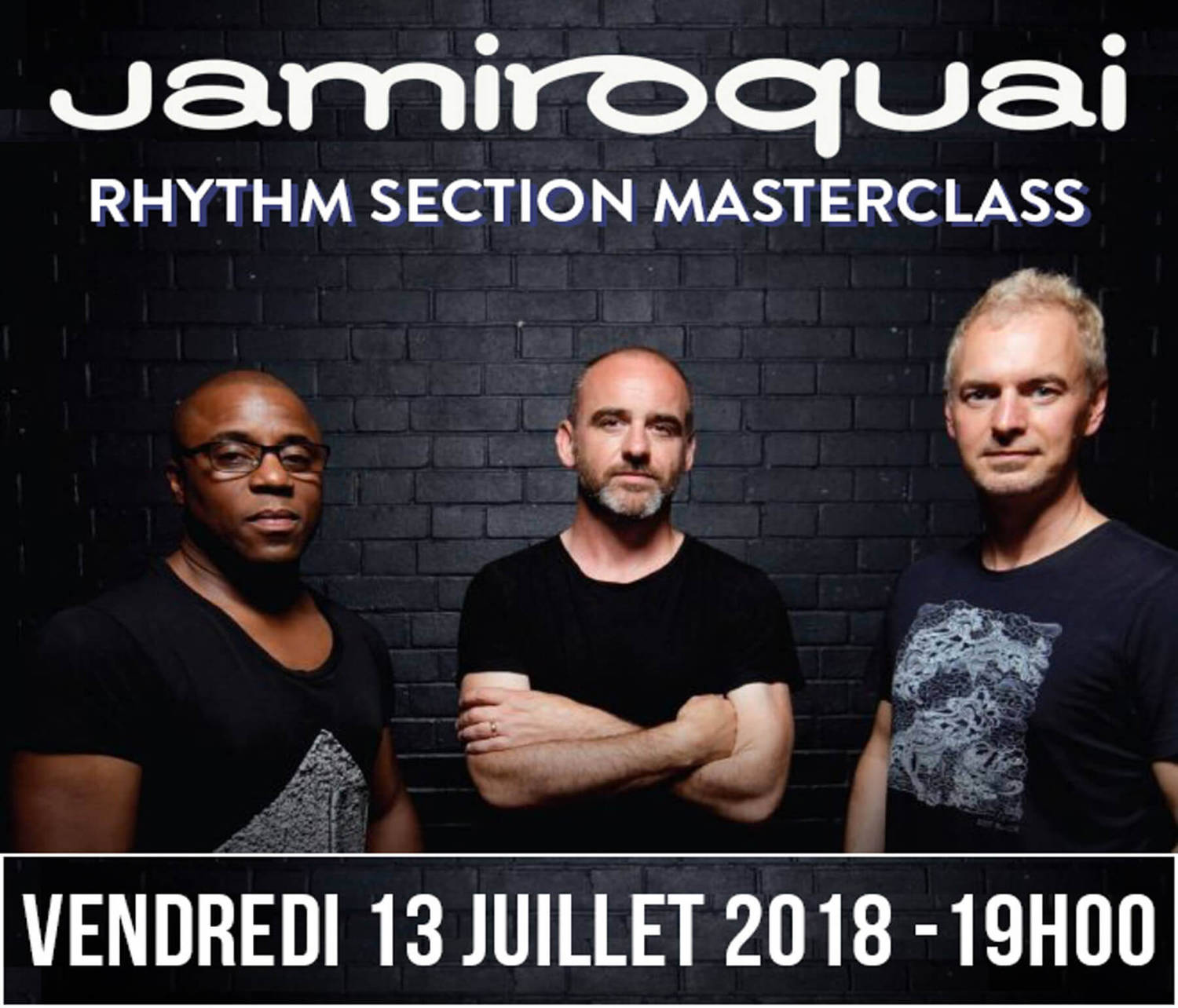 Jamiroquai Rhythm Section Masterclass