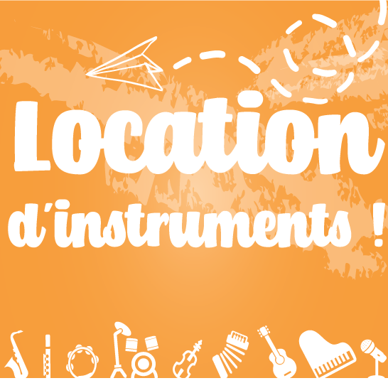 Location d'instruments