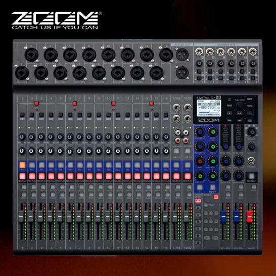 Zoom L-20 LiveTrak