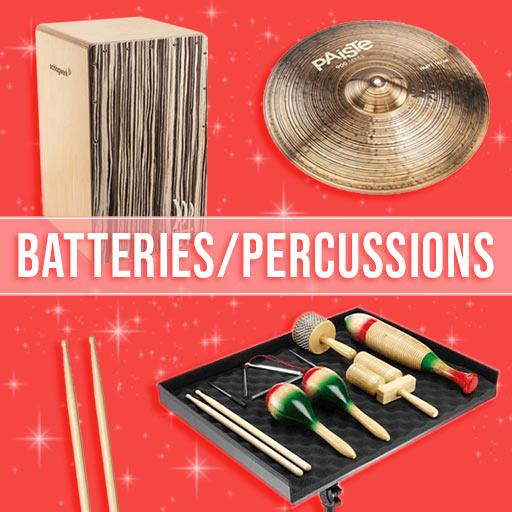 Idées cadeaux Batteries & Percussions