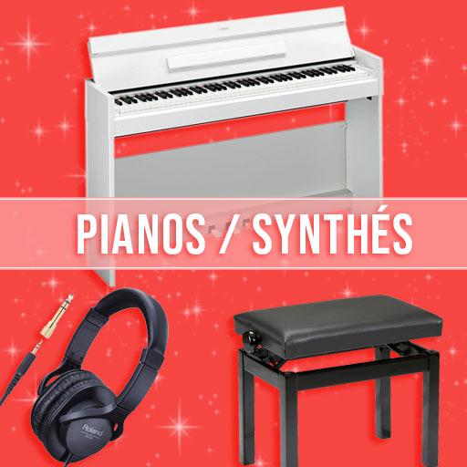 Idées cadeaux Pianos & Synthés