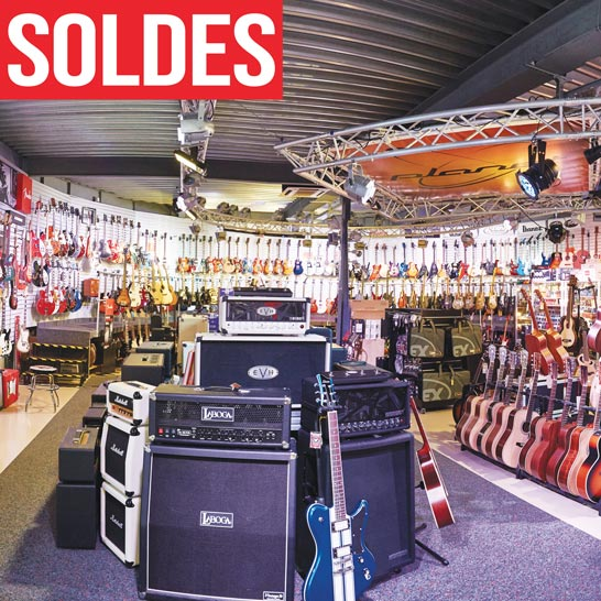 Soldes guitares & basses