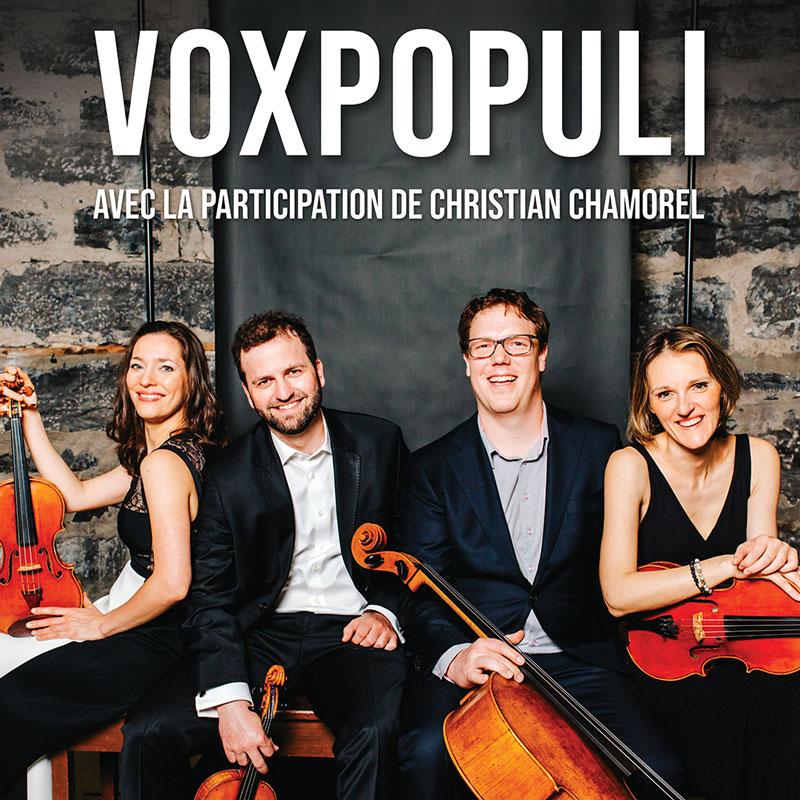 Voxpopuli et Christian Chamorel  – SAMEDI 23 MARS 2019 – 17h30