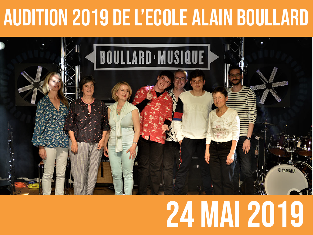 AUDITION 2019: 24 mai