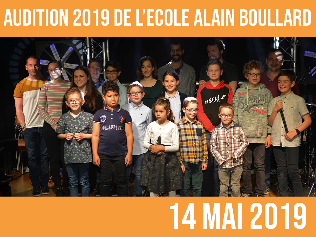 AUDITION 2019: 14 mai