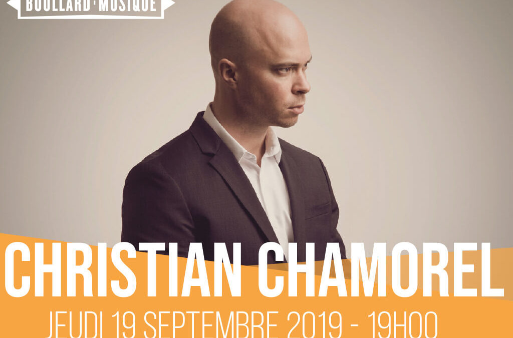 RECITAL DE PIANO CHRISTIAN CHAMOREL