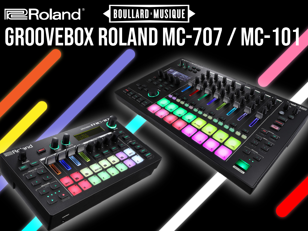 GROOVEBOX ROLAND MC-707 / MC-101