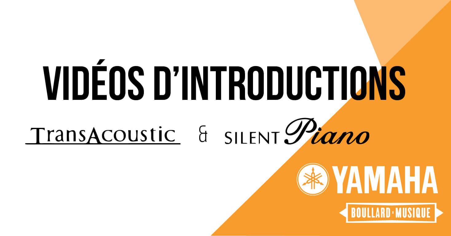 YAMAHA PIANOS SILENT ET TRANSACOUSTIC