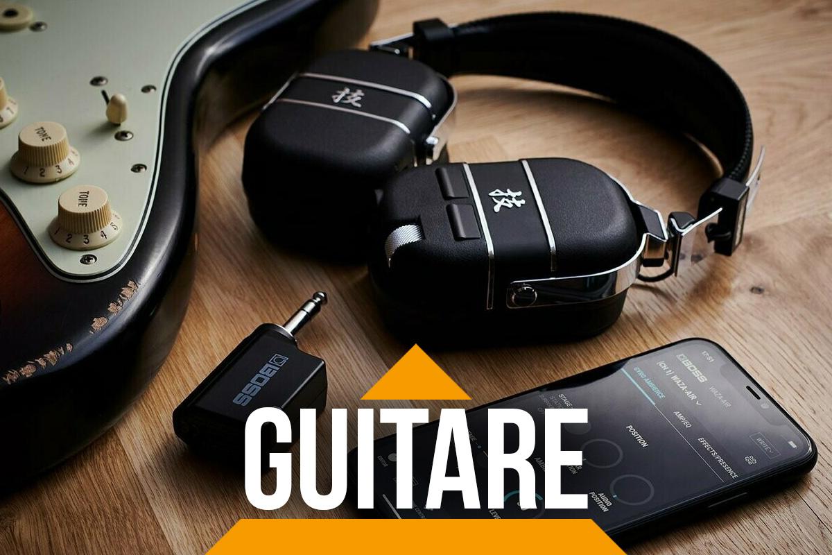 Waza-Air – L'ampli guitare personnel et nomade de BOSS !