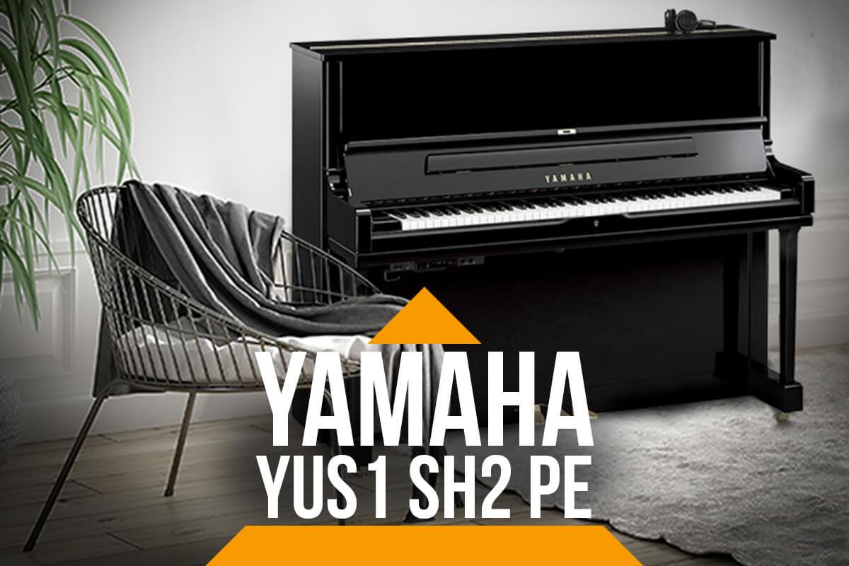 Piano Silent Noir Yamaha YUS1 SH2