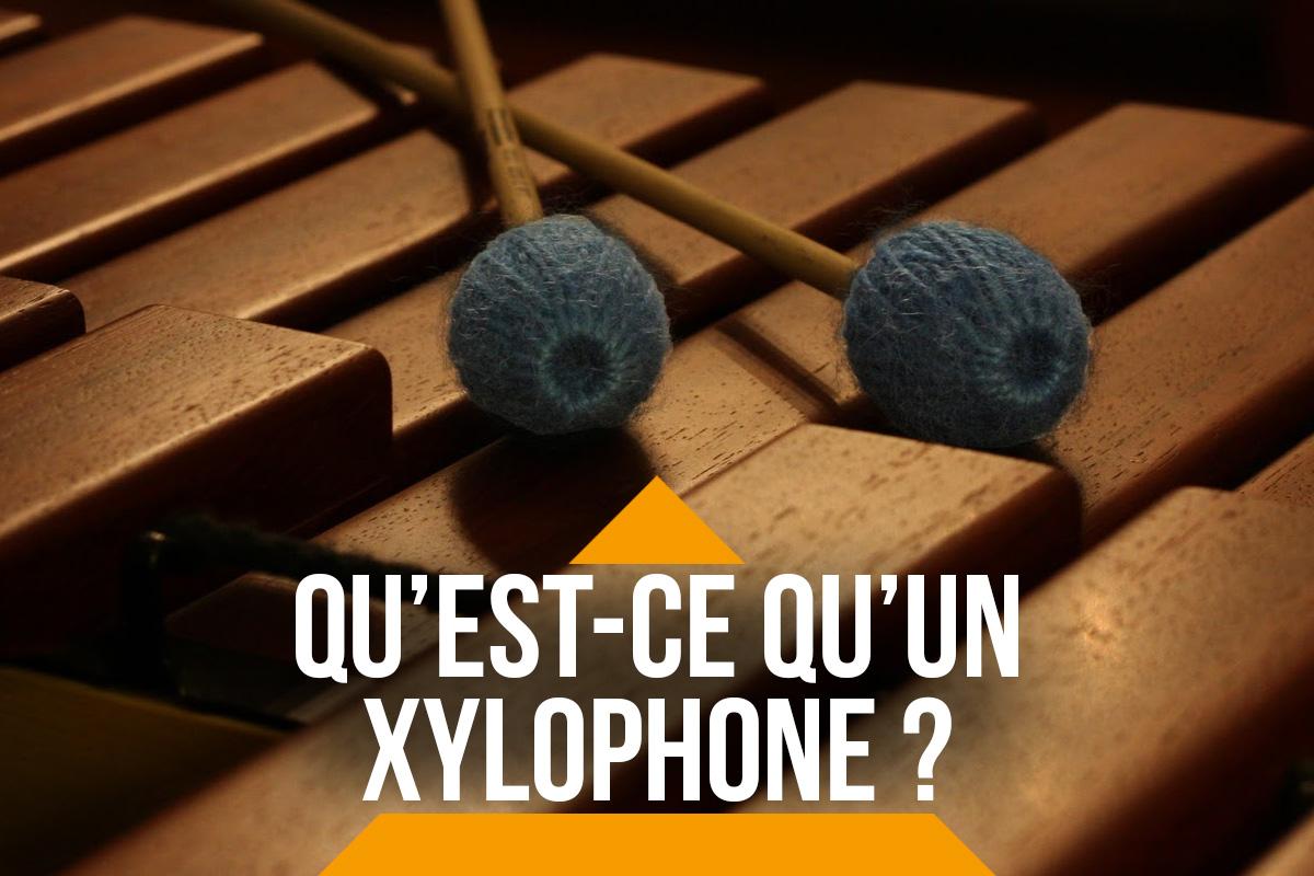 Qu'est-ce qu'un xylophone ?