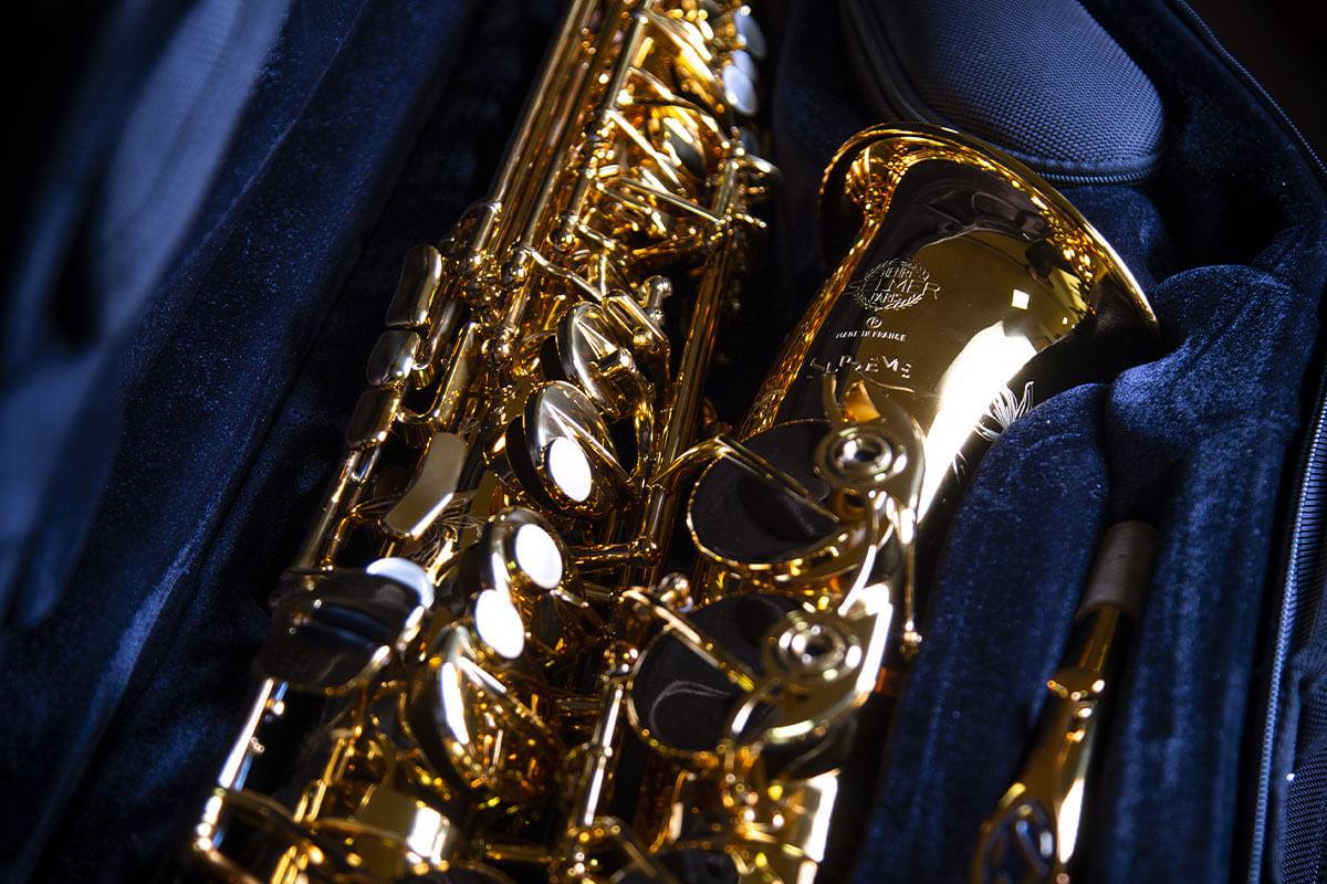 Saxophone Selmer Alto Supreme: la création au bout des doigts!