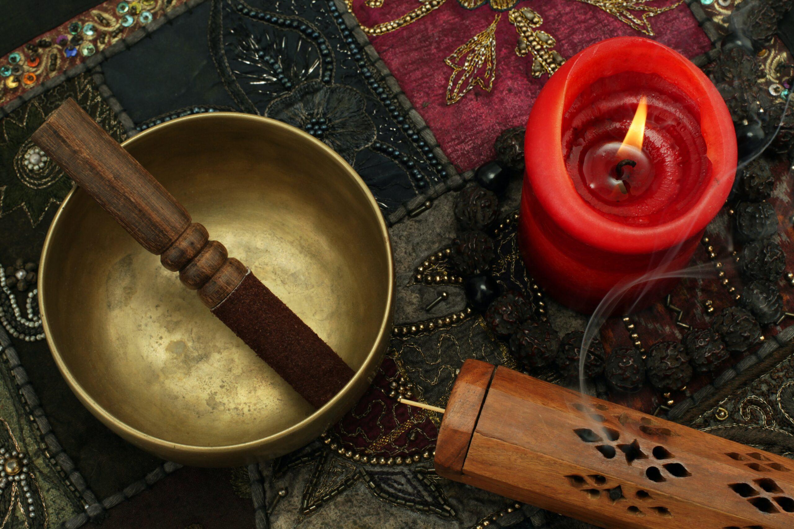 S'apaiser au son des bols chantants tibétains