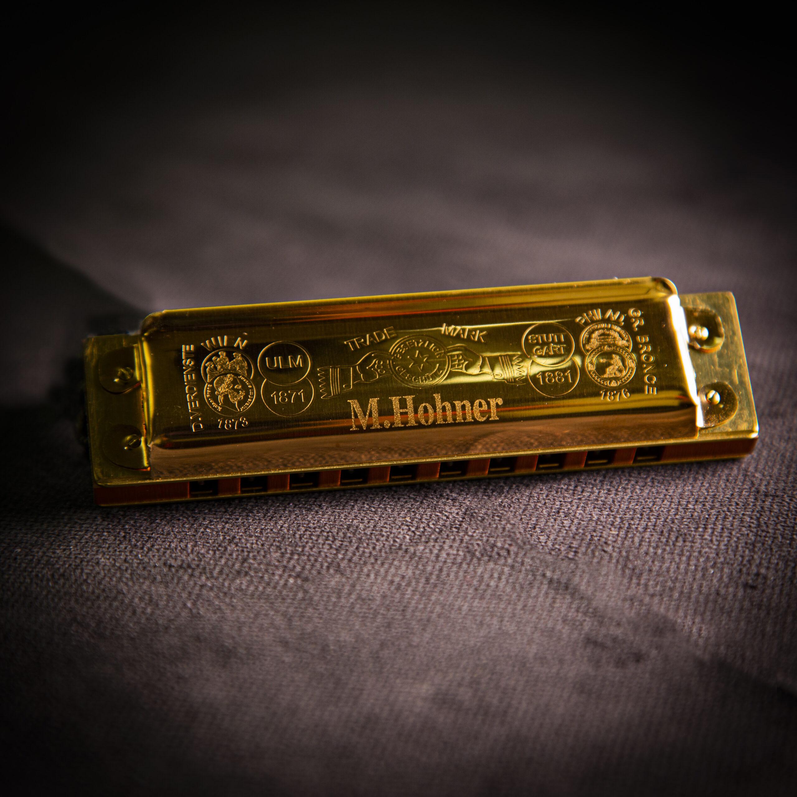 Jeu concours : gagnez un harmonica Hohner Golden Marine Band 125e anniversaire en exclusivité!