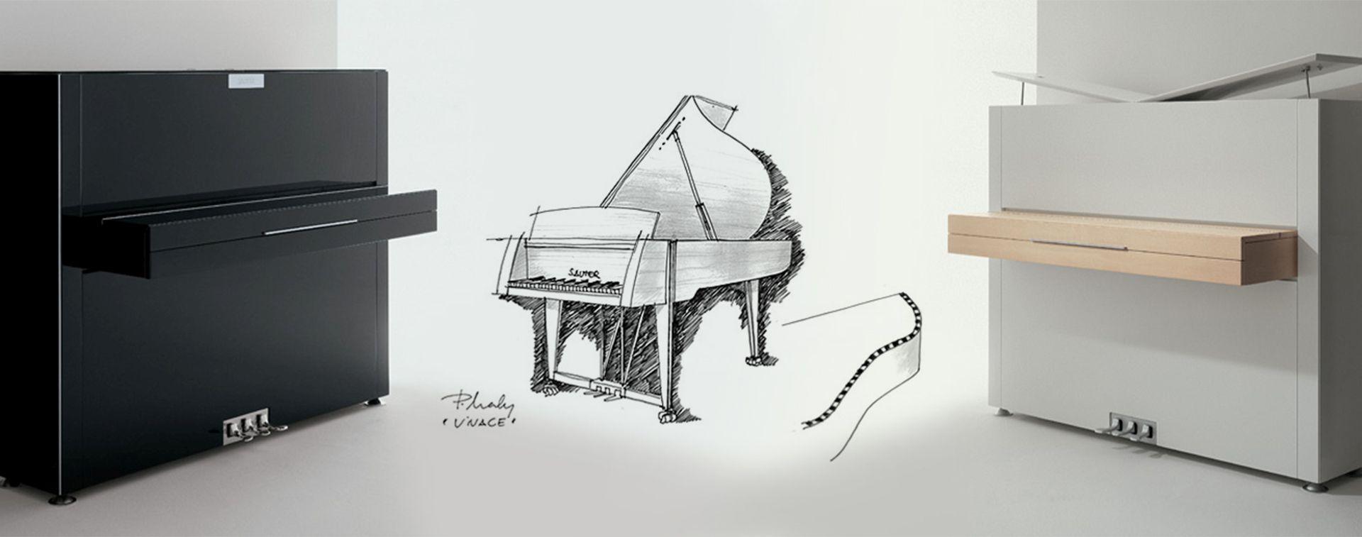 Sauter : des pianos au design avant-gardiste