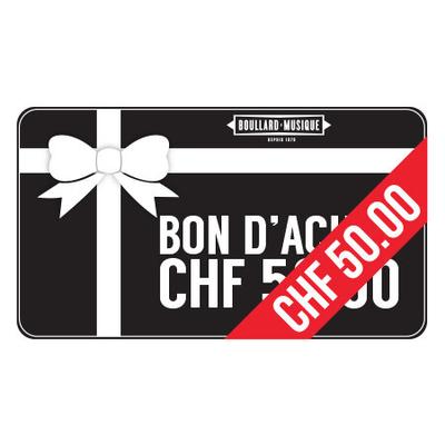BMB Bon d'achat de 50 CHF