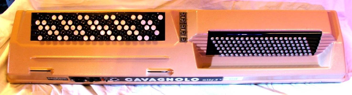 Cavagnolo Midy 5 Clavier maître accordéon MIDI