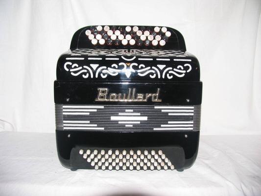 Boullard Mini 4 Rangs 60 Basses 2/3 Voix