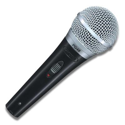 Shure PGA48-QTR-E Microphone Dynamique 1/4» Câble