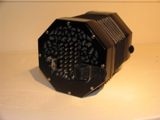 Stagi A-56-N Chromatique 56 boutons  2×28