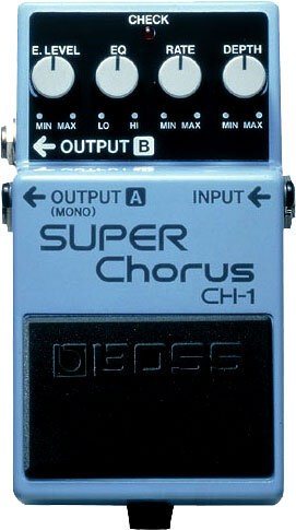 Boss CH-1 Super Chorus : photo 1