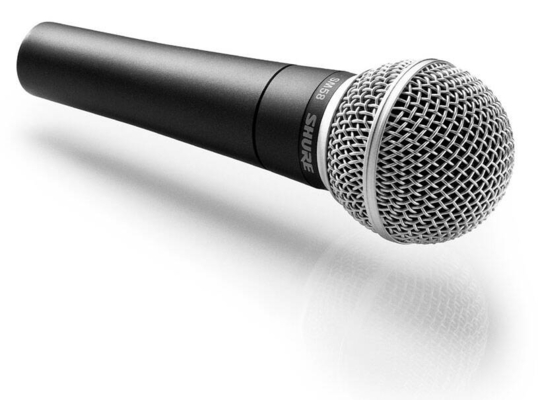 Shure SM58-LCE Microphone Dynamique Cardiode