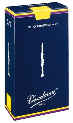 Vandoren Classic Clarinette mib 1.5 Box 10 pc