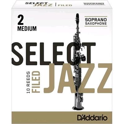Rico Select Jazz Sax soprano sib 2M Filed 10 pc