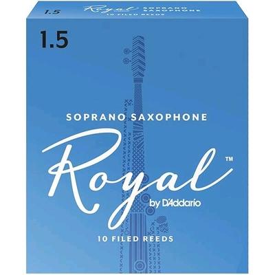 Rico Royal Sax soprano sib 1.5 Box 10 pc