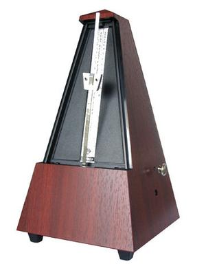 Wittner Pyramide plastique acajou + sonnerie
