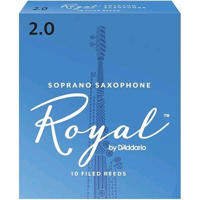 Rico Royal Sax soprano sib 2.0 Box 10 pc