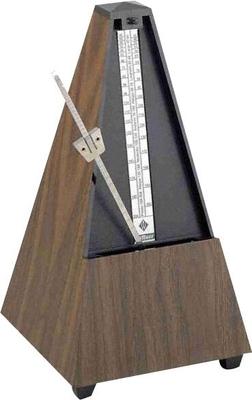 Wittner Pyramide plastique noyer avec sonnerie