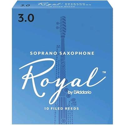 Rico Royal Sax soprano sib 3.0 Box 10 pc