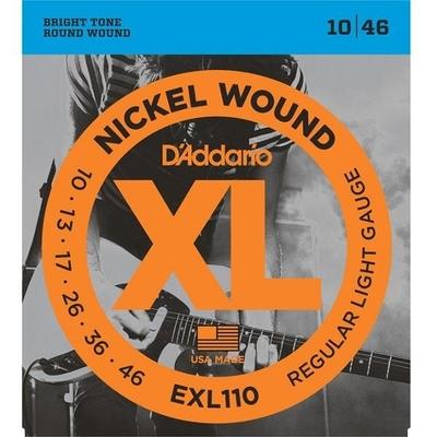 D'Addario EXL110 Nickel Round Wound .010-.046 Regular Light