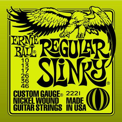 Ernie Ball 2221 Nickel Wound .010-.046 Regular Slinky
