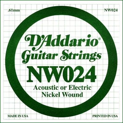 D'Addario NW024 Nickel Wound